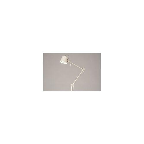 Lumidora Stehleuchte Modern Metall Grau Creme Sand 74428