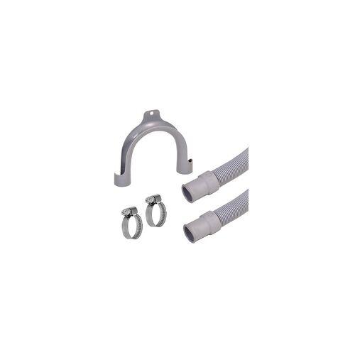 VARIOSAN Ablaufschlauch 12135, 2,50 m, für Waschmaschine und Geschirrspüler