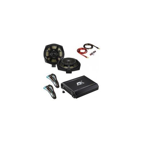 ESX Navigation Lautsprecher DSP Endstufen Aktiv Subwoofer ESX BMW Subwoofer Endstufe Paket Plug n Play