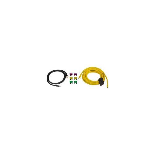 ESX Navigation Lautsprecher DSP Endstufen Aktiv Subwoofer ESX DWK6 6qmm Kabelset