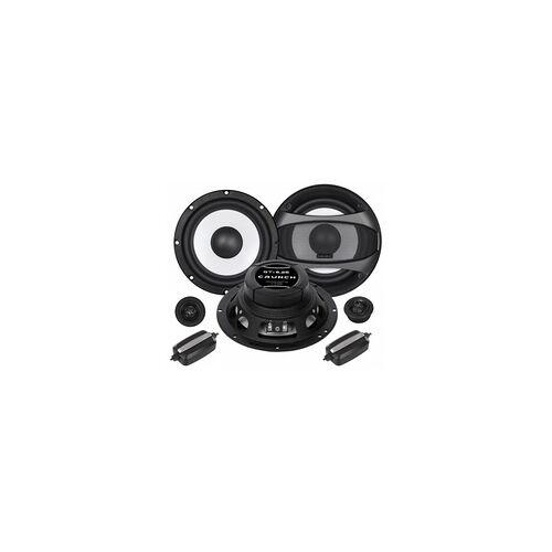 Crunch Endstufen Lautsprecher Aktiv Subwoofer Crunch GTi6.2E 16,5cm Lautsprecher