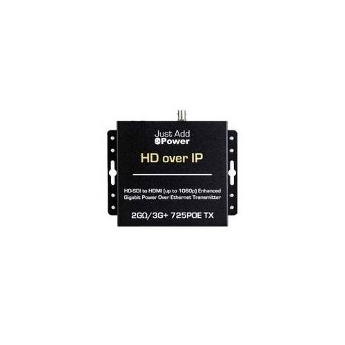 Just Add Power Just  Add  Power  2G-3G+  PoE  Tx  SDI