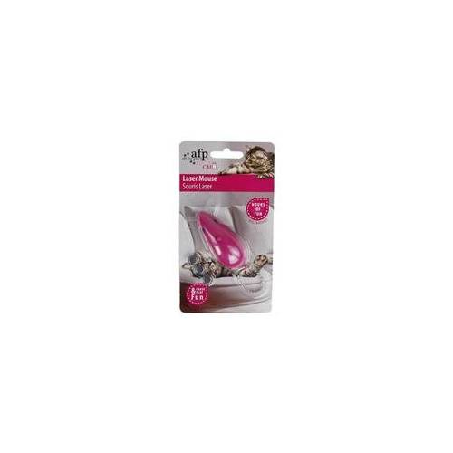 All for Paws Modern Cat - Laser Mouse - Katzenspielzeug - rosa