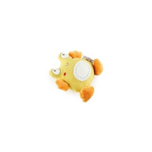 All for Paws Quietschendes Hunde & Welpen Spielzeug Pups Frog 11 x 11,5 x 4,5 cm