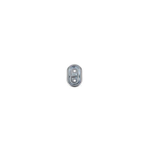 PRO PLUS Zurrbügel Zurrmulde OVAL 103mm x 70mm 3 teilig für Anhänger Trailer Ladebordwand