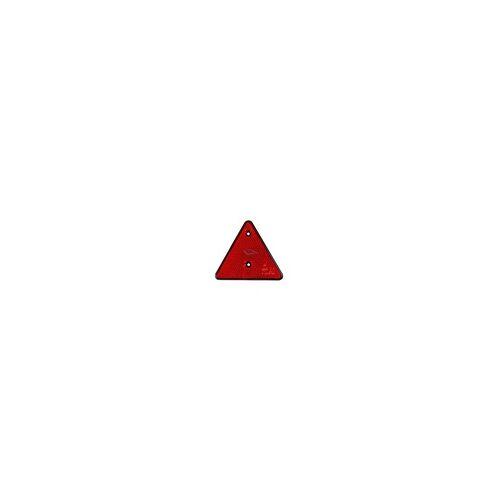 PRO PLUS 2 Stück Dreieckrückstrahler Rückstrahler Dreieck Dreiecksrückstrahler ROT E4