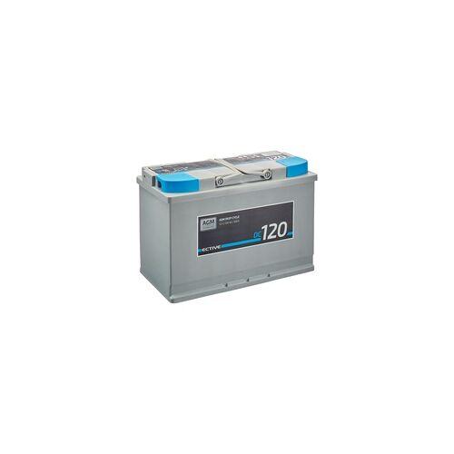 ECTIVE DC 120 AGM Deep Cycle 120Ah Versorgungsbatterien