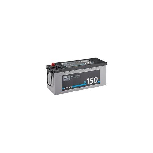 ECTIVE DC 150 AGM Deep Cycle 150Ah Versorgungsbatterie