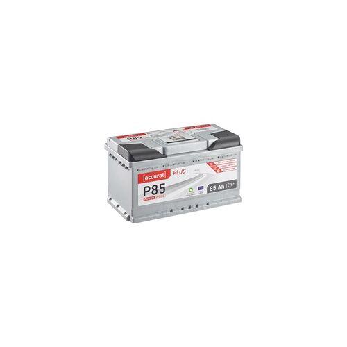 Accurat Plus P85 Autobatterie 85Ah