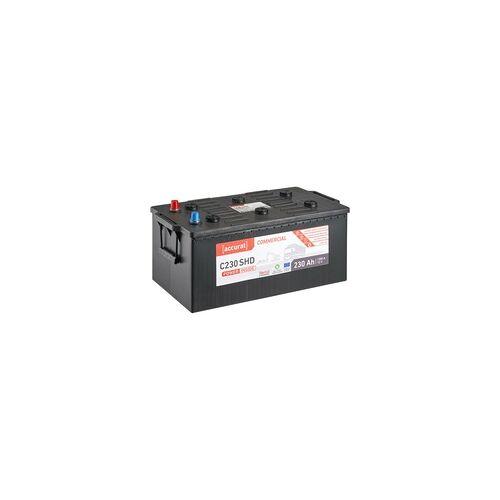 Accurat Commercial C230 SHD LKW-Batterie 230Ah