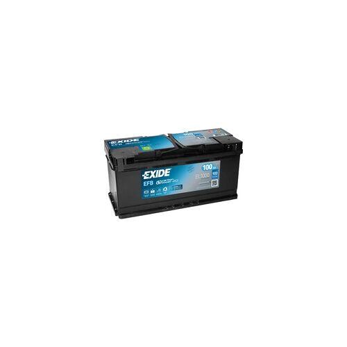 Exide EL1000 12V EFB Autobatterie 100Ah