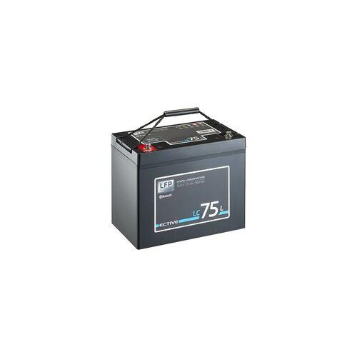 ECTIVE LC 75L BT 12V LiFePO4 Lithium Versorgungsbatterie 75 Ah