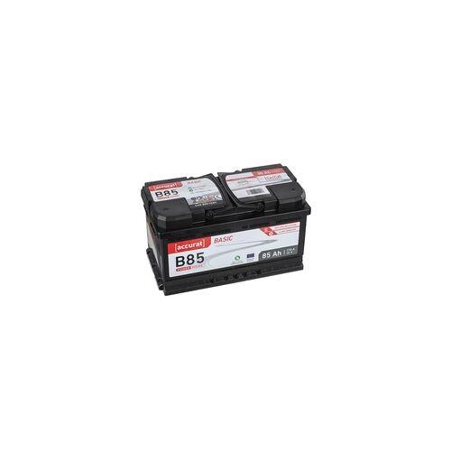 Accurat Basic B85 Autobatterie 85Ah