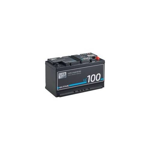 ECTIVE LC 100 12V LiFePO4 Lithium Versorgungsbatterie 100 Ah