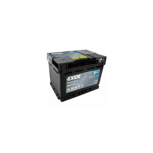 Exide EA612 Premium Carbon Boost 61Ah Autobatterie