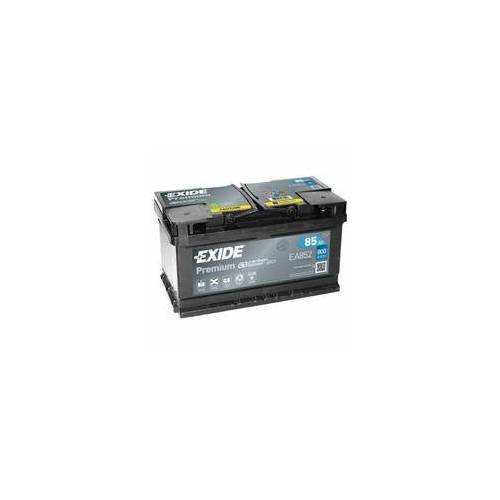 Exide EA852 Premium Carbon Boost 85Ah Autobatterie