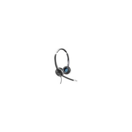 Cisco Systems - CP-HS-W-532-RJ= - Cisco 532 Wired Dual - Headset - On-Ear - kabelgebunden