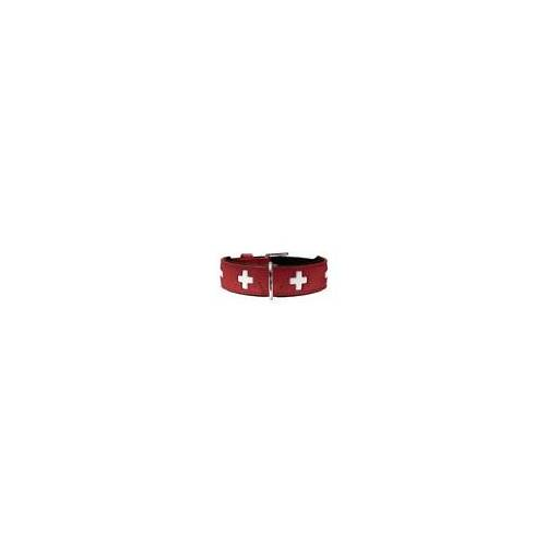 Hunter Halsband Swiss 65 rot 51 - 58,5 cm / 39 mm