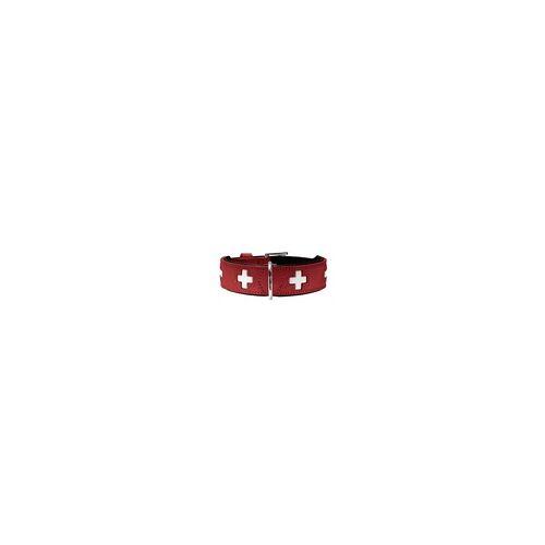 Hunter Halsband Swiss 37 rot 30 - 34,5 cm / 26 mm