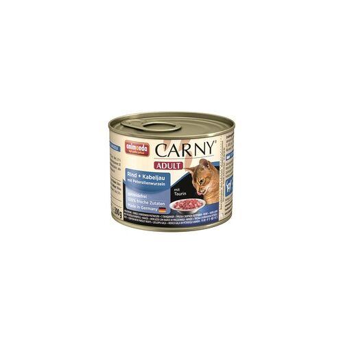 Animonda Carny Adult Rind & Kabeljau & Petersilienwurzeln 200g (Menge: 6 je Bestelleinheit)