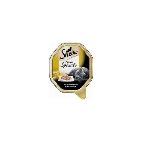 Mars Katze Sheba Schale Speciale Hühnchen in Kräutersauce 85g (Menge: 22 je Bestelleinheit)