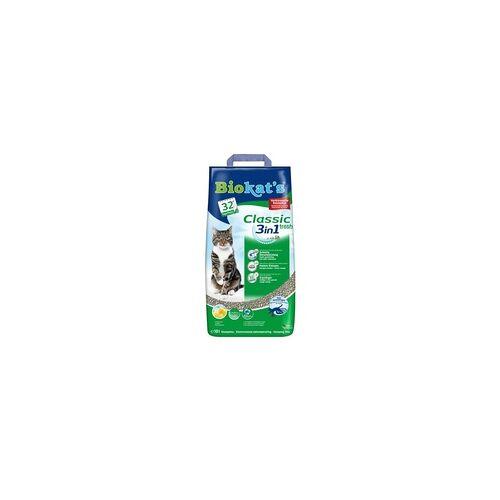 Gimborn Streu Biokats Classic 3 in 1 Fresh 10 Liter