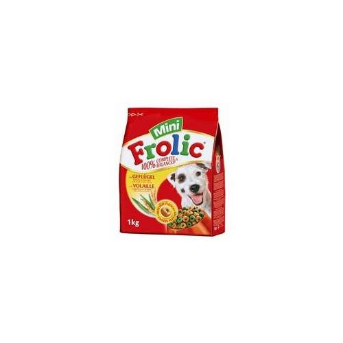 Mars Dog Frolic Complete Mini mit Gefluegel, Gemuese und Getreide 1kg