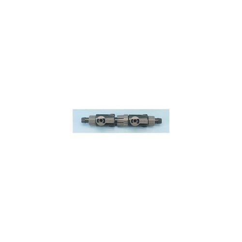 Eheim Doppelhahn mit Kupplung 12-16 mm