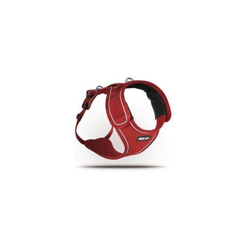 Curli Belka Geschirr Rot XL