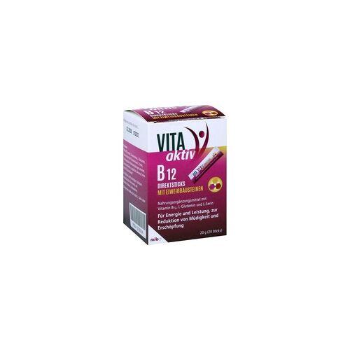 Mibe VITA aktiv B12 Direktsticks mit Eiweißbausteinen