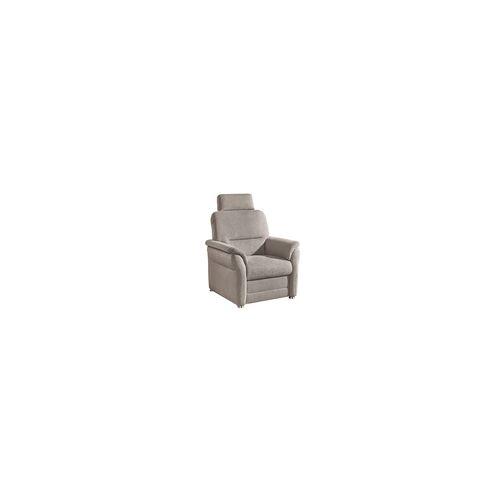Musterring Sessel PP-QL11014 Q+ in silver, mit Aluminiumfüßen