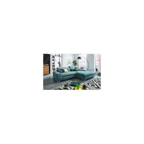 set one by Musterring Wohnlandschaft SO 1200 in grau-blau