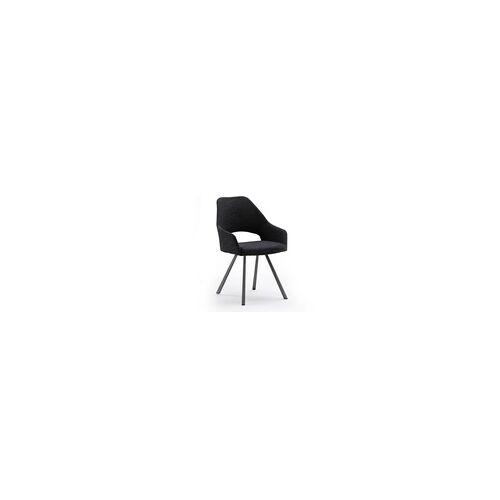 Vito 4-Fuß-Stuhl 3036 in schwarz