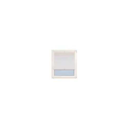 Teba Klemm-Plissee in weiß, 40 x 130 cm
