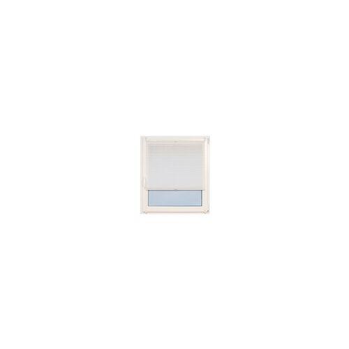 Teba Klemm-Plissee in weiß, 50 x 130 cm