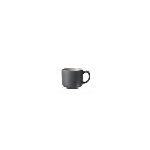 Ritzenhoff & Breker / Flirt Kaffeetasse Jasper in grau, 240 ml