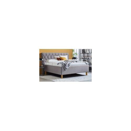 Schlaraffia Polsterbett Brilliant in grau, Liegefläche ca. 180 x 200 cm, 1 x in Härtegrad 2 und 1 x in Härtegrad 3