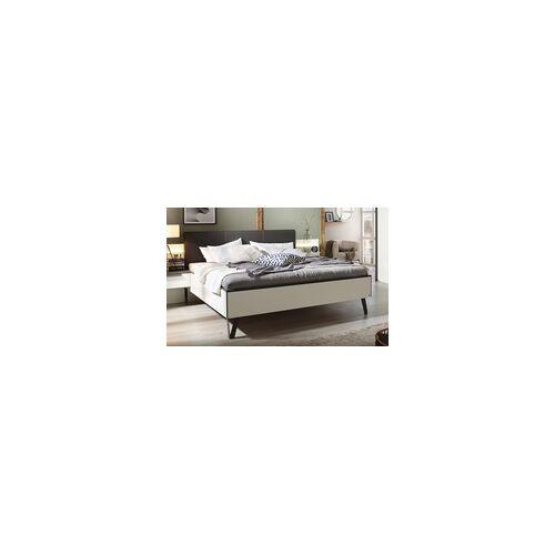 Vito Futonbett 4014 in alpinweiß für Schlafzimmer mit Schwebetürenschrank