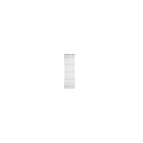 Gözze Ösenvorhang La Paz in creme, 140 x 245 cm
