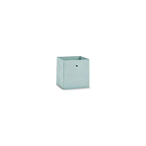 Zeller Aufbewahrungsbox in mint, 28 x 28 cm