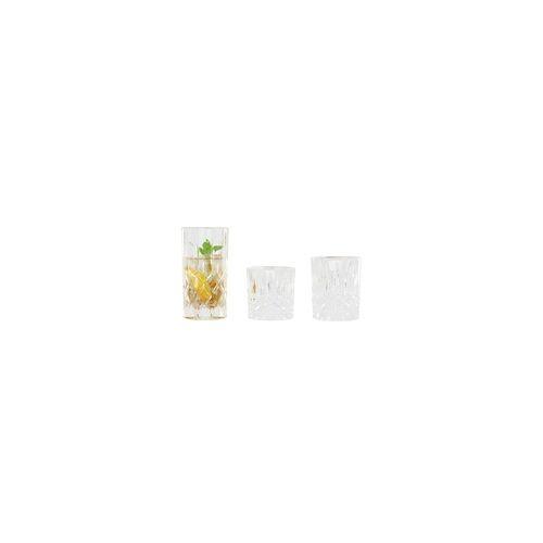 Nachtmann Becher-Set Noblesse aus Kristallglas, 18-teilig