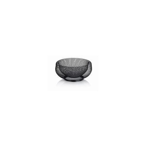 Kela Fruchtkorb Marlo in schwarz, 22,5 cm