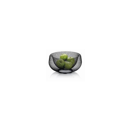 Kela Fruchtkorb Marlo in schwarz, 28,5 cm
