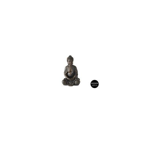 Boltze Buddha aus Kunstharz, 30 cm