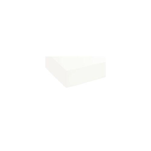 Biberna Boxspring-Spannbetttuch in weiß, 180 x 200 cm
