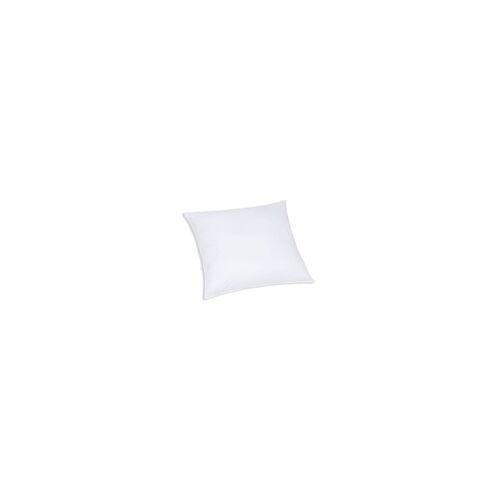 f.a.n. Frankenstolz F.A.N. Faserbällchen-Kissen Kansas in weiß, 80 x 80 cm