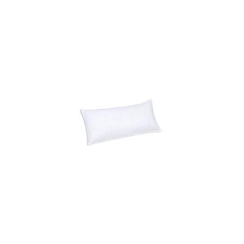 f.a.n. Frankenstolz F.A.N. Faserbällchen-Kissen Kansas in weiß, 40 x 80 cm