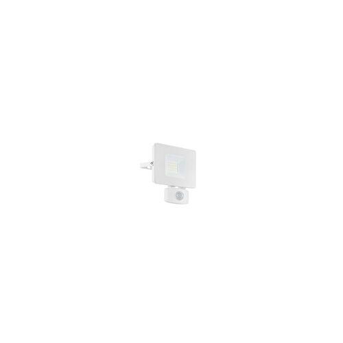 Eglo LED-Außenwandleuchte Faedo 3 in weiß, 14 cm