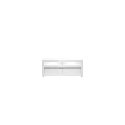 IMV Lowboard Carat in weiß