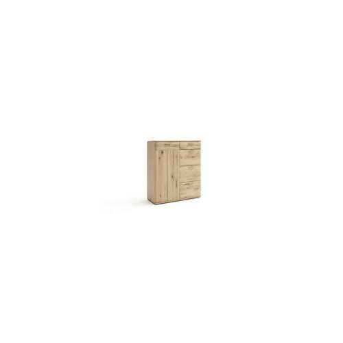 MCA furniture Kommode Nilo in Balkeneiche bianco geölt